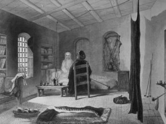 Chambre à coucher de Lady Stanhope