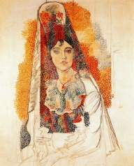 24juin-woman-with-spanish-dress-1917