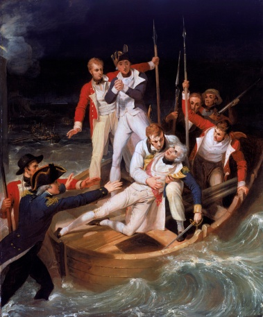12juillet-Sir_Horatio_Nelson_when_wounded_at_Teneriffe