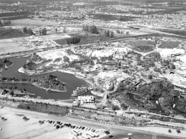 Vues aérennes du park en 1955