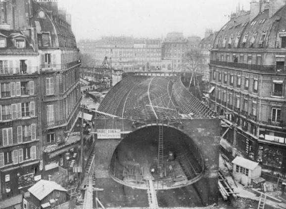 inauguration du rer parisien
