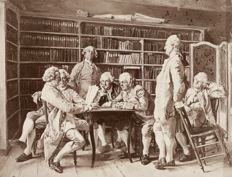 1juillet-1312548-Jean-Louis_Ernest_Meissonier_Lecture_chez_Diderot