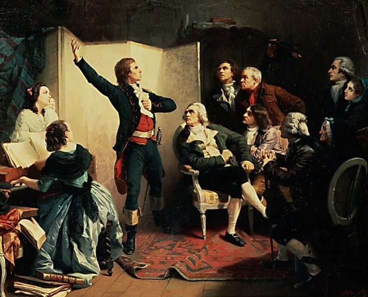 Nineteenth Century French Painting of