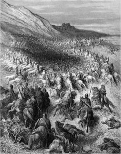 3juillet-Gustave_Doré-_Battle_of_Hattin
