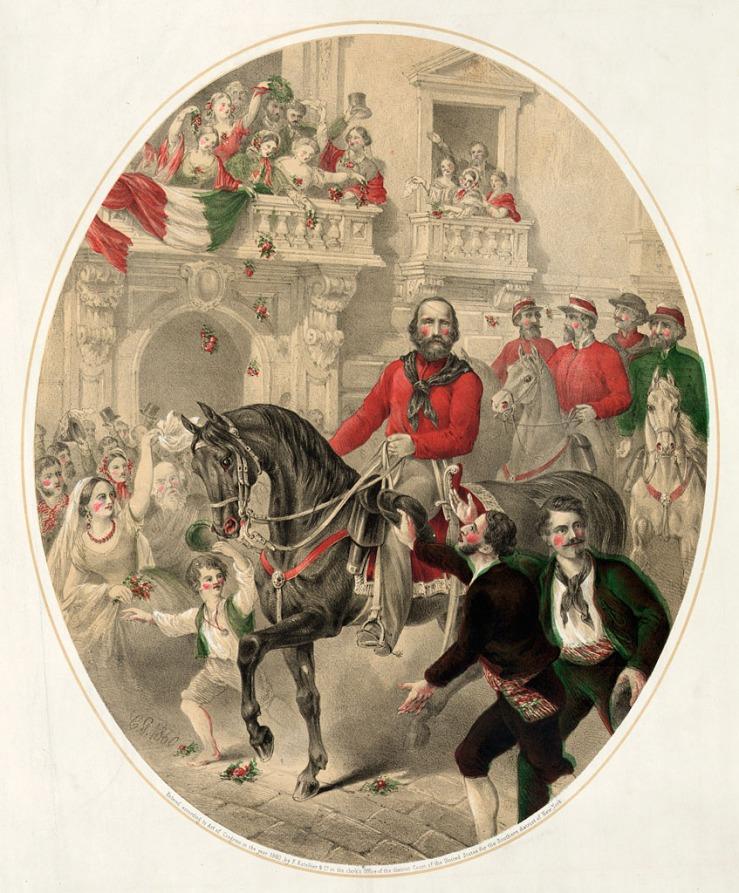 Garibaldi entering Naples